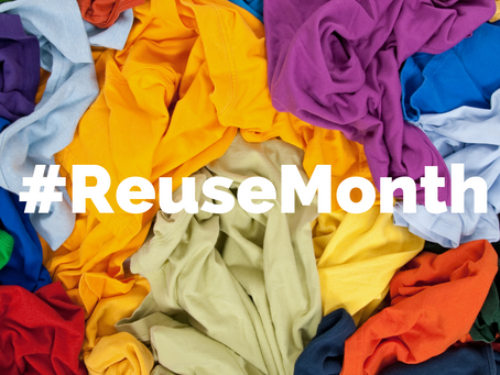 5 changes you can make during Reuse month