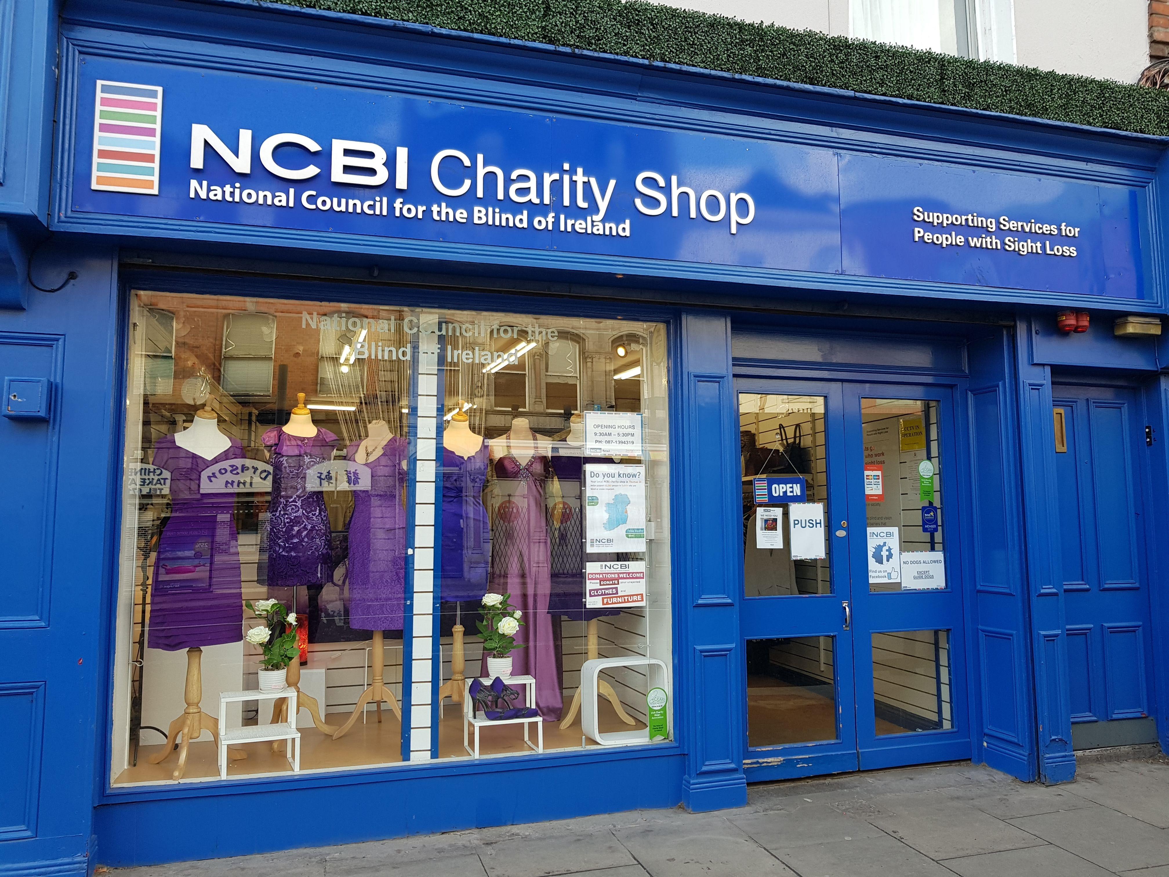 NCBI charity Shop