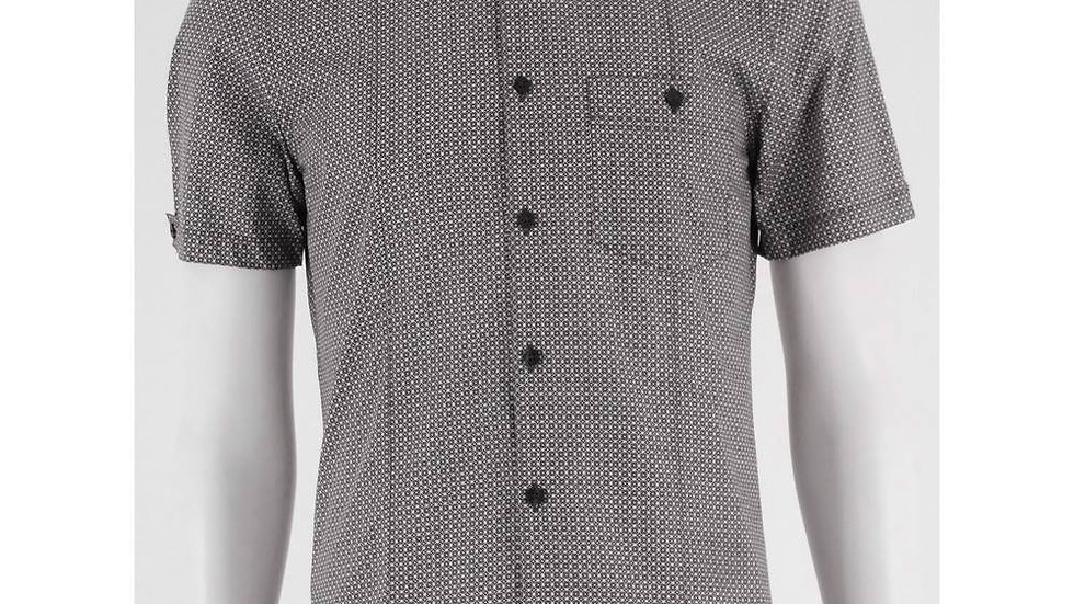NWOT M&S SIZE: S CHARCOAL GREY, SHORT SLEEVED SHIRT