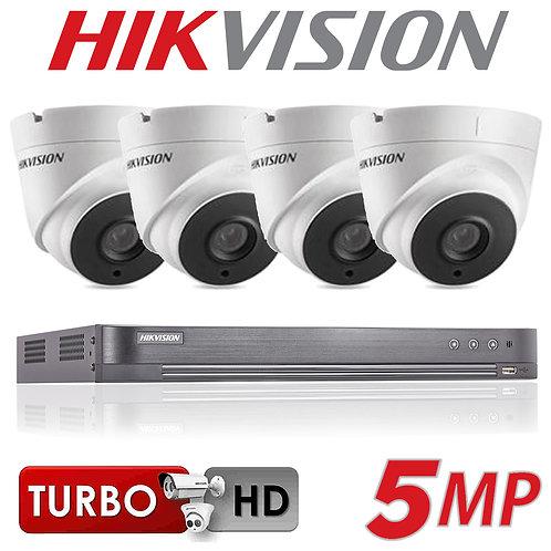 2 Camera 5 Mega-Pixel Hikvision CCTV Kit1