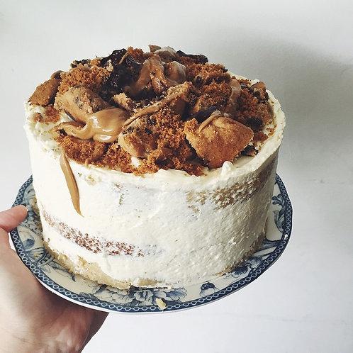 MILK & COOKIE DOUGH CAKE