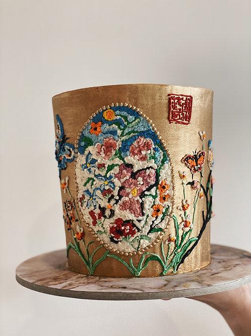 Mosaic Oriental Cake (single tier)