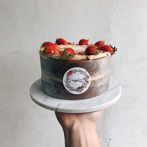 "6"" Strawberry Tea Cake (Diabetic Friendly)"