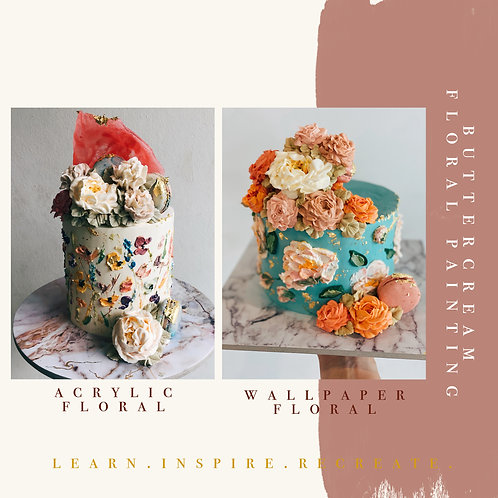 BUTTERCREAM FLORAL PAINTING