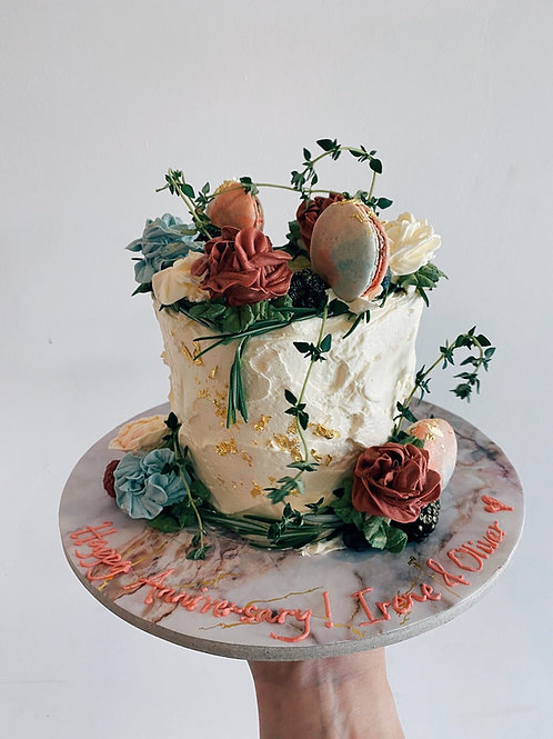 Forest Wreath Cake