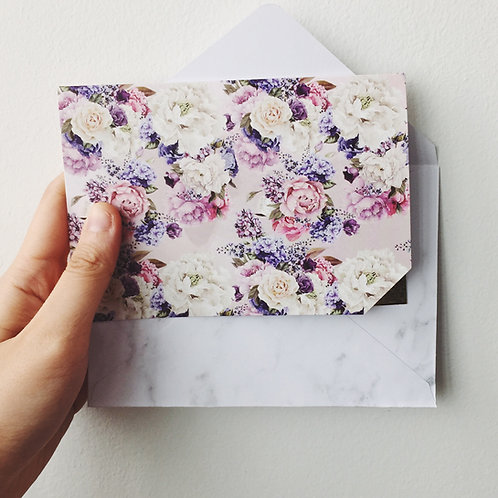FULL BLOSSOM GREETING CARD