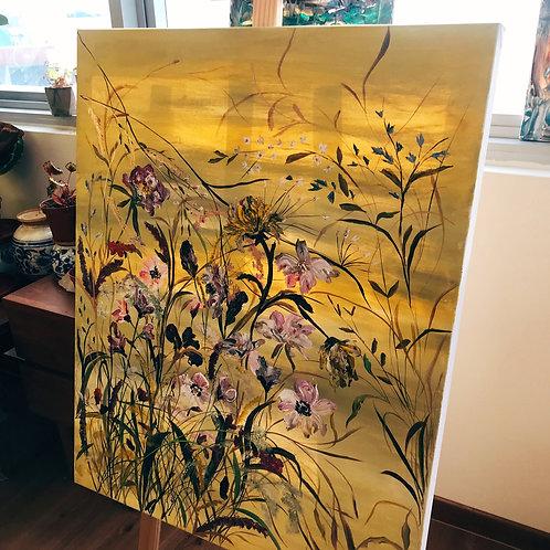 Entangled, Enchanted  (Floating Flower Series)
