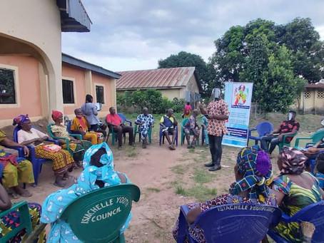 SENSITIZATION OF GIRL STUDENTS, MEETING WITH IGBAKWU STAKEHOLDERS & OMOR WOMEN LEADER
