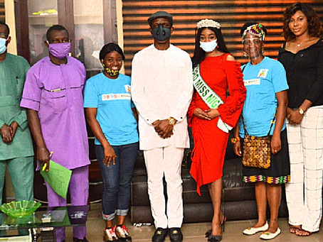 Anambra Health Ministry to Collaborate with WHAI's Girls Lead Club  ...as Miss Nigeria Pushes for ..