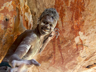 The enigmatic Gwion art of the Kimberley.
