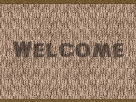 Welcome! (Sorta)