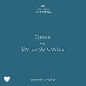 Stress vs Dores de costas
