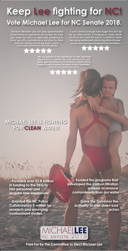 Michael Lee Lifeguard News Ad