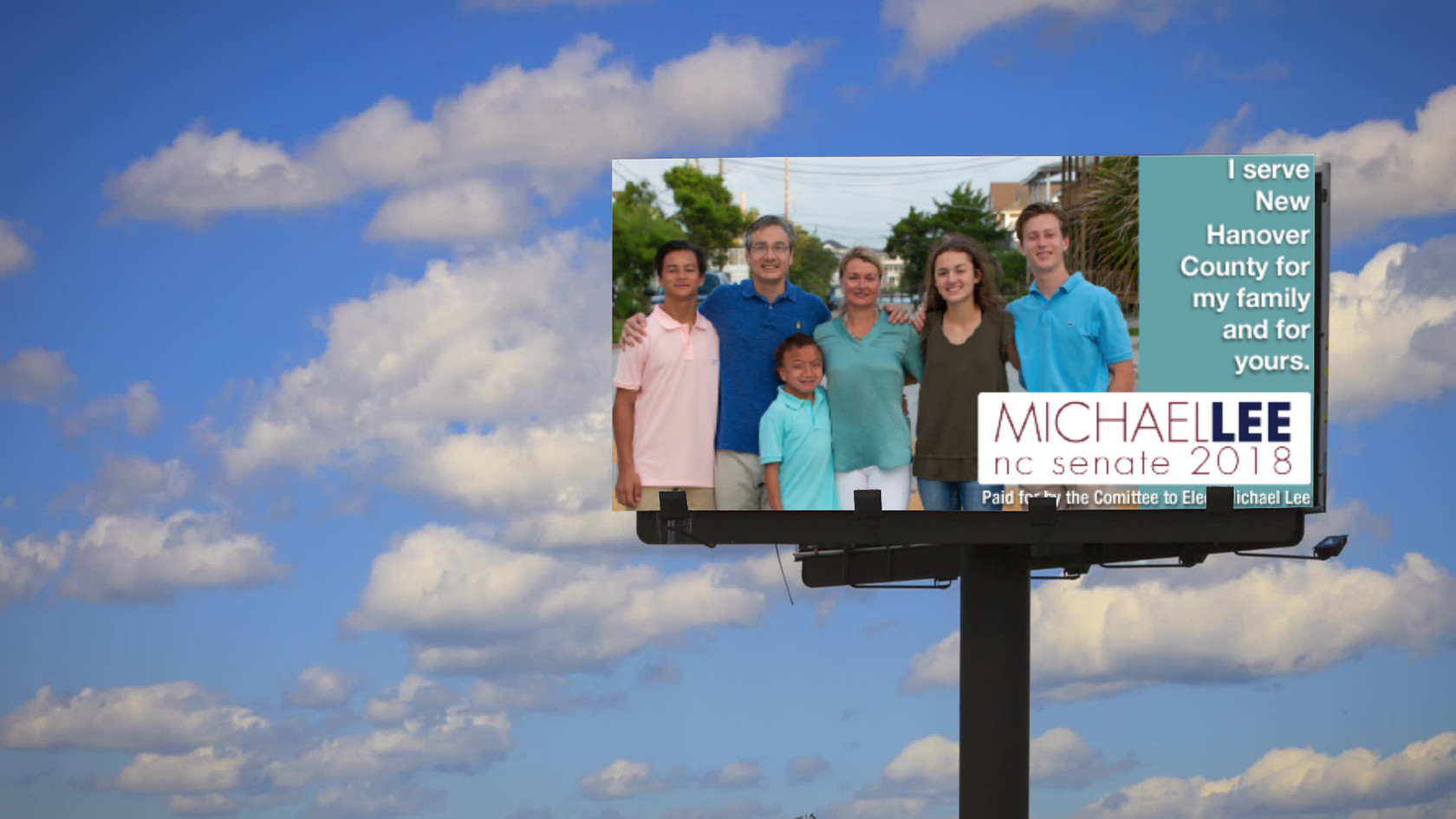 Michael Lee Billboard