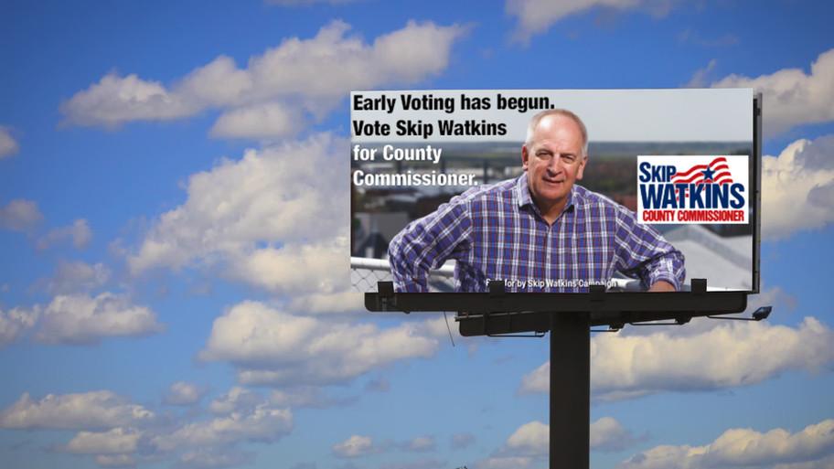 Skip Watkins Billboard