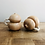 Thumbnail: Hand carved salt n pepper shakers