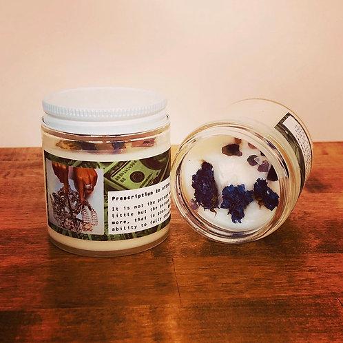 Prescription for Abundance - Handmade Soy Candle