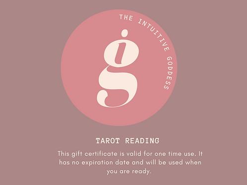 Gift certificate - Tarot Reading