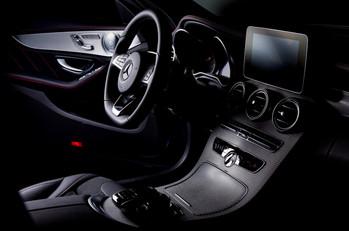 Termékfotózás Mercedes interior