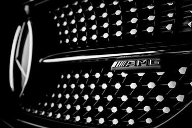 Reklámfotózás Mercedes front grill AMG