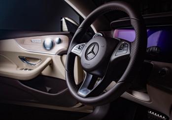 Termékfotózás  Mercedes Interior E-class