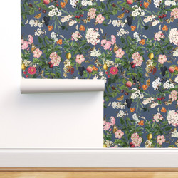 Summer Orchard, Faded Navy