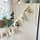 Thumbnail: Australiana bunting flags, linen wall hanging for nursery