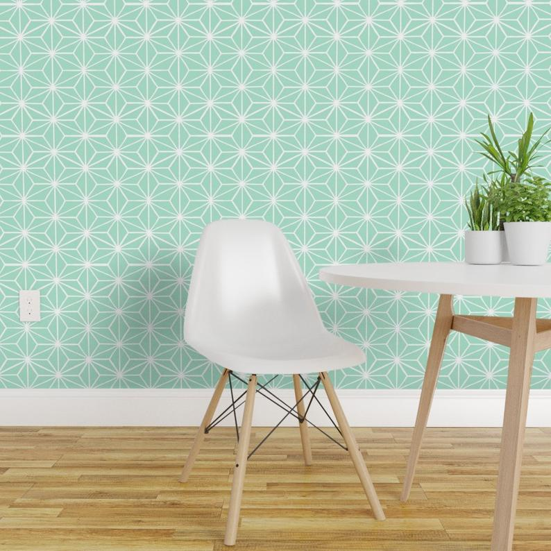 Star Tile Mint