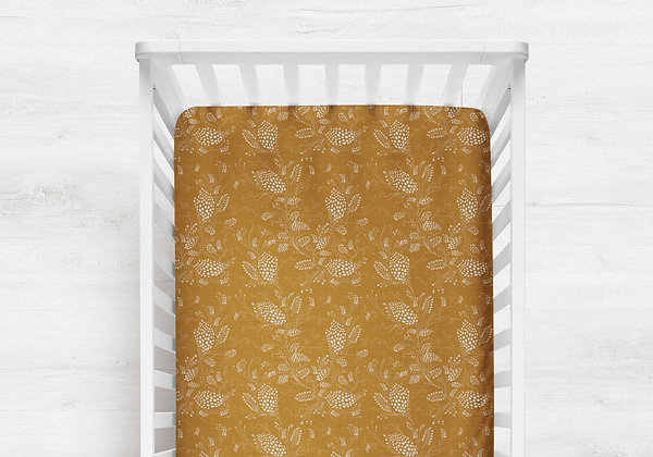 Everdeen Cot Sheet | Made to Order Fitted or Flat Sheet
