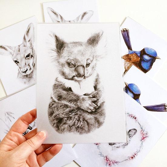 Greeting Card | Baby Koala