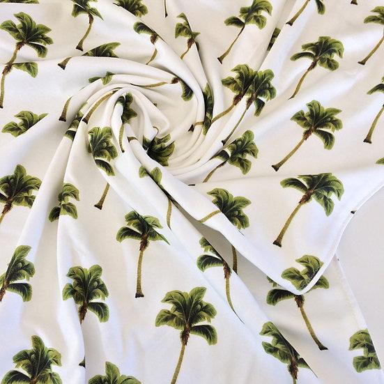 Palm Tree Fabric Botanical Cotton Fabric