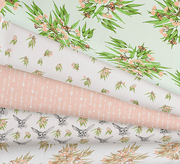 Australian Nursery Collection 1 | Any Material | Fabric Printed in USA