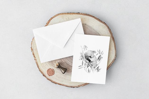 Greeting Card | Sleepy Koala