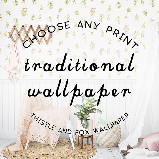 Traditional Pebbled Wallpaper, Commercial Grade, Custom Printed