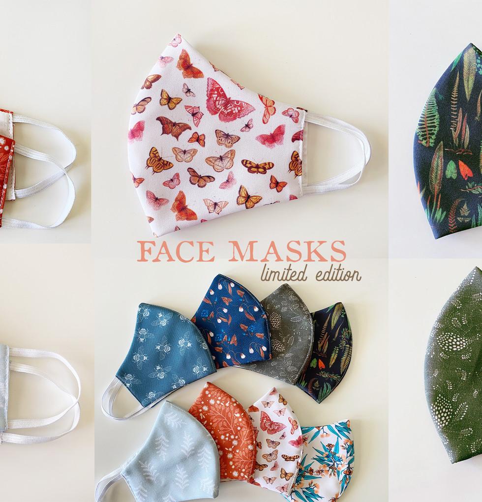 Handmade Face Masks