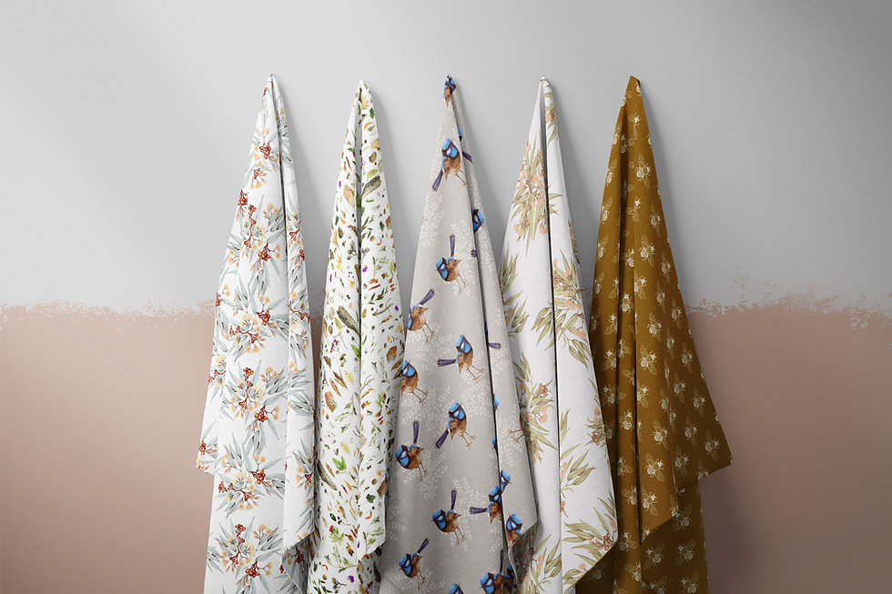 17 Fabric Hanging AUST Bronze Set.jpg