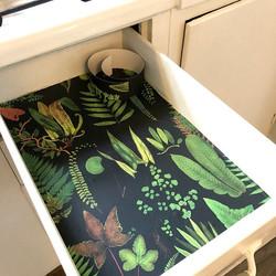 Bathroom drawer liners