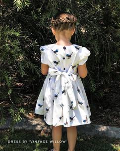 Blue Wren Dress