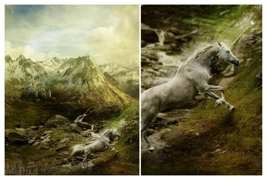 Fleeing through the Mountains