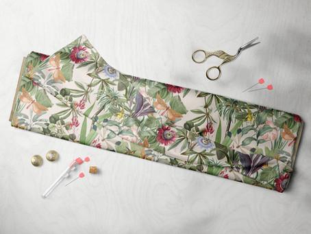 Custom Printed Dressmaking Fabrics