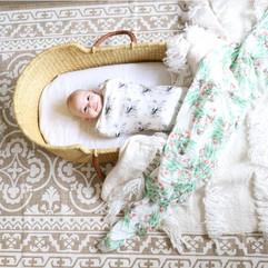 Swaddle Sack & Muslin Blanket