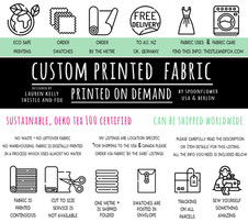 For Fabrics Printed by Spoonflower