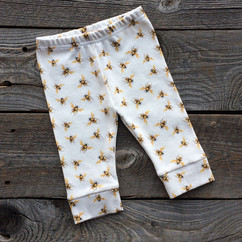 Honey bee baby pants