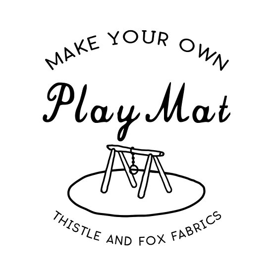 Make Your Own PLAY MAT, Fabric Printed in Australia