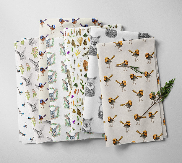 ANY Fabric by the Metre, Printed by Spoonflower, Free Shipping