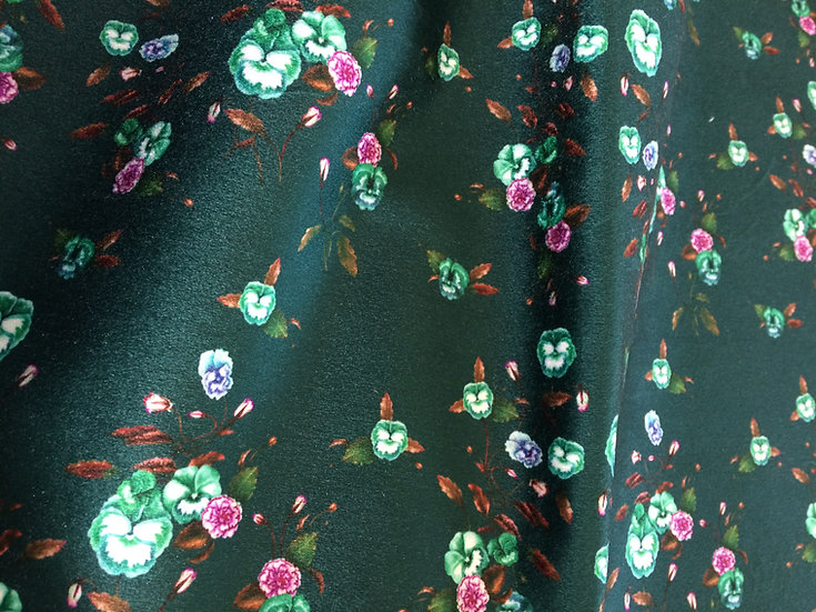Velvet Upholstery Weight Fabric, Printed in Australia. Choose Any Print
