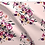 Thumbnail: Wildflower Meadow Fabric Pink Peach Set 2, Choose Design, Printed by the Metre