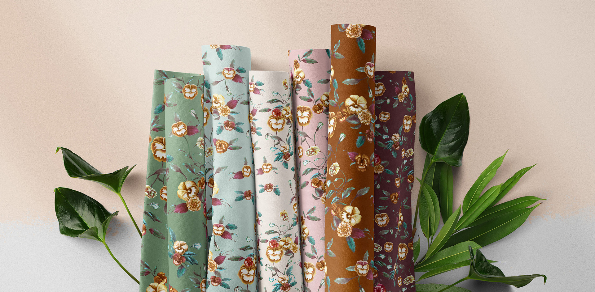 Pansy Peony Autumn Collection