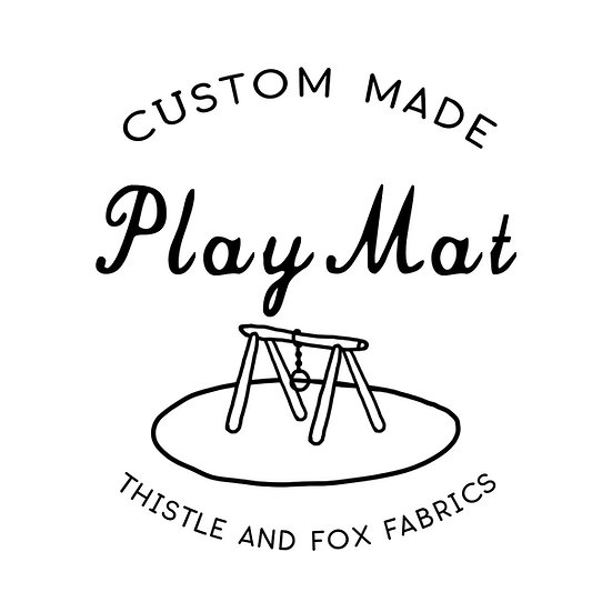 Custom Play Mat, Choose Fabric
