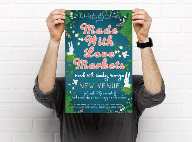 Made With Love Poster March 2016